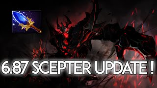 6.87 Patch Changes Dota 2 - Shadow Fiend Aghanim's Scepter Rework!