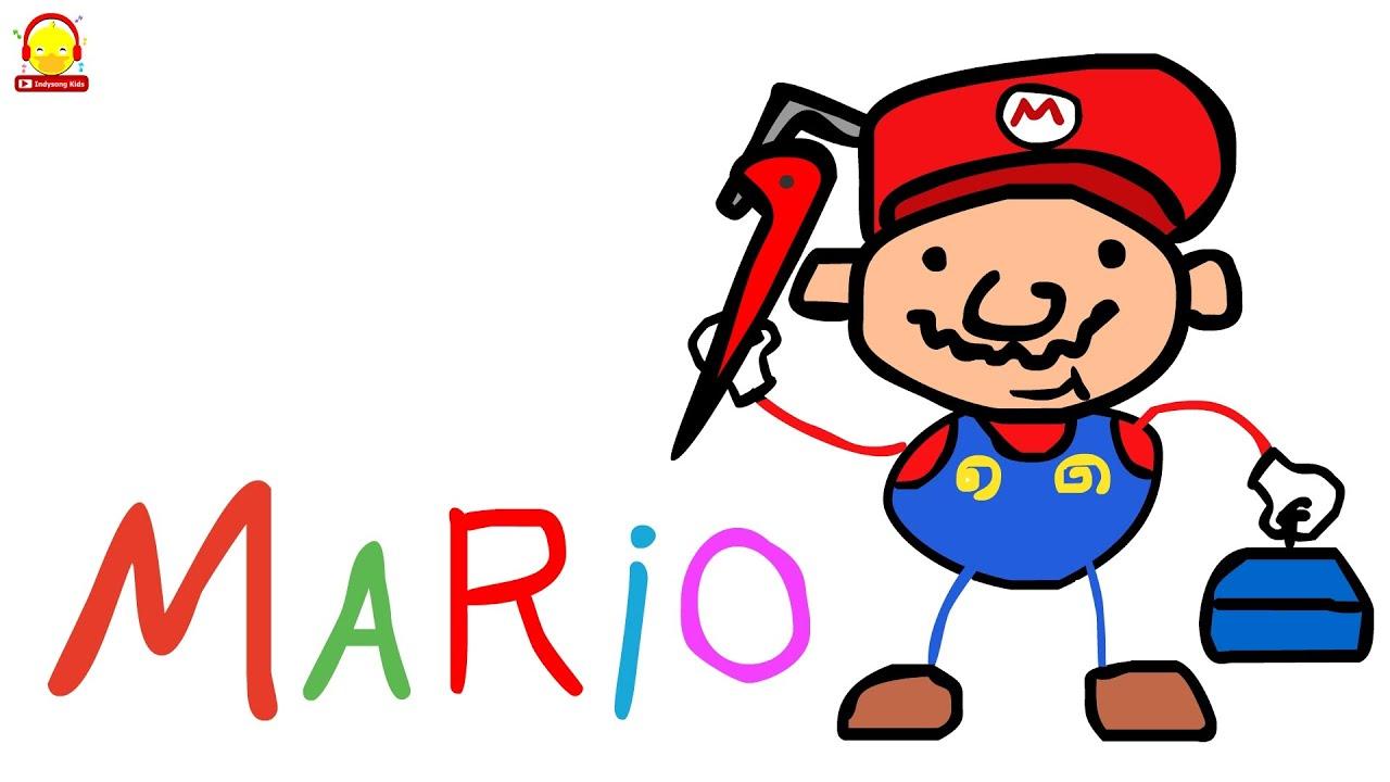 ประวัติของมาริโอ้ จาก เกมมาริโอ้ Mario Game History | เก๊มส์เกม indysong kids