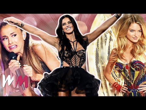 Top 10 Craziest Victorias Secret Fashion Show Moments
