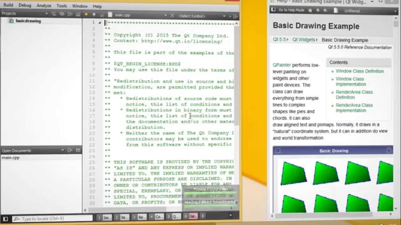Qt Creator - Le Bottin des Jeux Linux