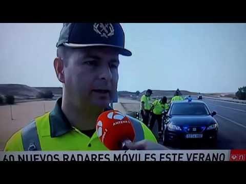 Reportaje control velocidad Radar Madrid