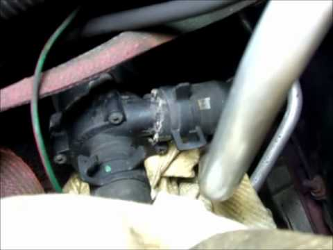 Dodge Durango 47 coolant, thermostat, and auxiliary water pump