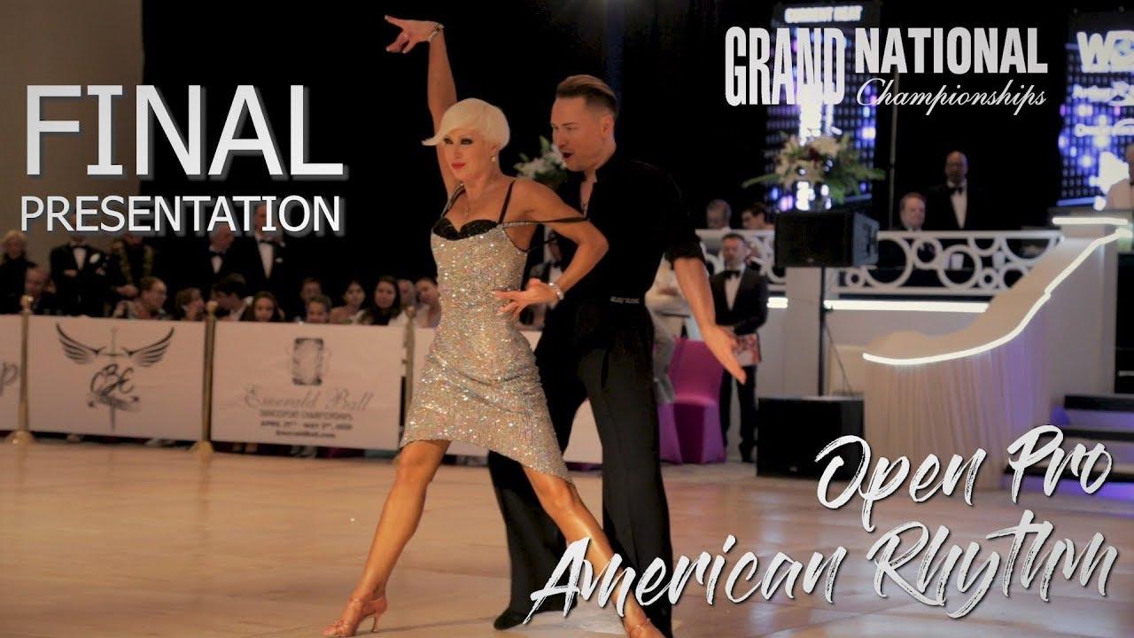 Open Professional Rhythm I Final Presentation I Grand National 2019