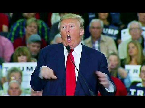 Donald Trump mocks reporter