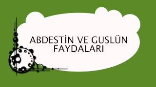 Abdestin ve Guslün Faydaları - Sorularla İslamiyet