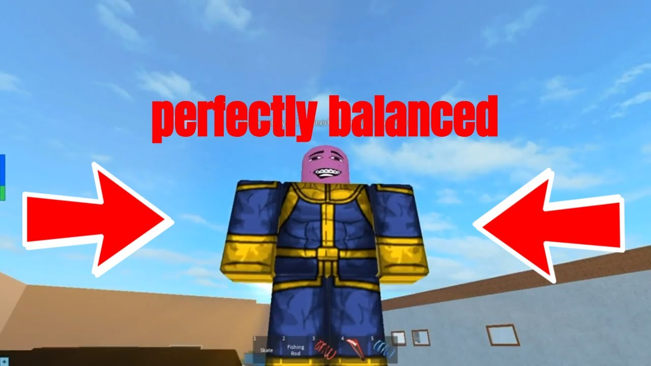 Thanos Attacks ROBLOX - Infinity War Meme