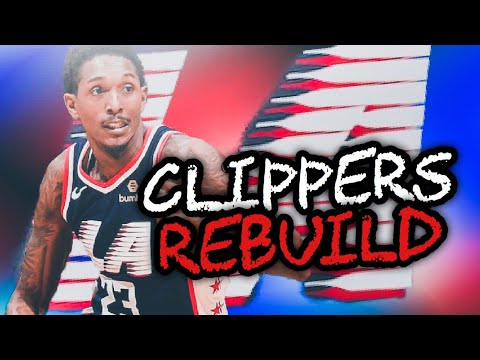 SIGNING KYRIE IRVING! LOS ANGELES CLIPPERS REBUILD! NBA 2K19