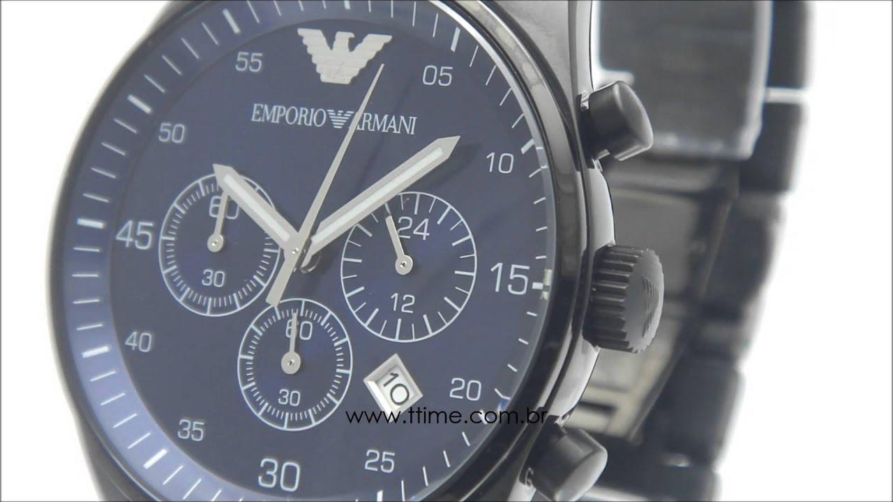 84d95e25727 Relógio Empório Armani HAR5921N - YouTube