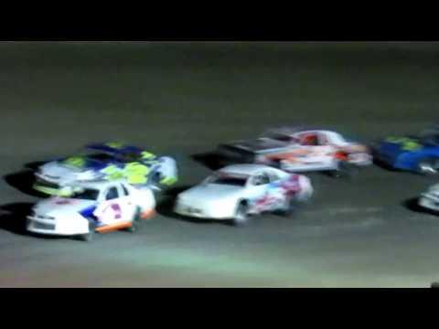 Desert Thunder Raceway I.M.C.A Stock Car Main Event 4/13/18