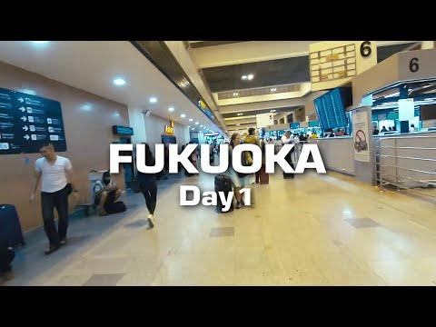 เที่ยว Fukuoka 4 วันไปไหนได้บ้าง EP1