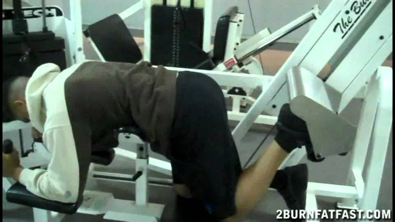The Butt Blaster Gym Machine to Tone Legs and Firm up Your ...