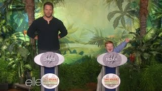 Apparently Kid Totally Schools Chris Pratt on Dinosaur Knowledge