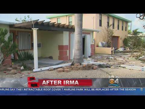 Residents Beginning To Asses Extreme Damage In Florida Keys