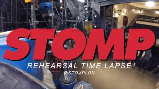 Rehearsal Time Lapse | Stomp London