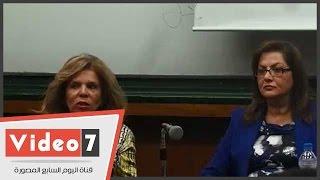 بالفيديو.. مشيرة خطاب: تشغيل النساء فى مصر يرفع الناتج القومى 34%
