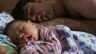 Cutest Of Daddy And Baby Funny Moments -  Funniest Babies Moments