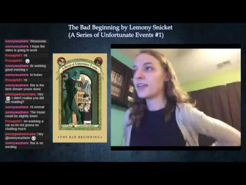 A Series of Unfortunate Events #1: The Bad Beginning by Lemony Snicket (Part 1) Mp3
