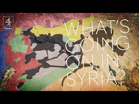 Syria: who is fighting whom?