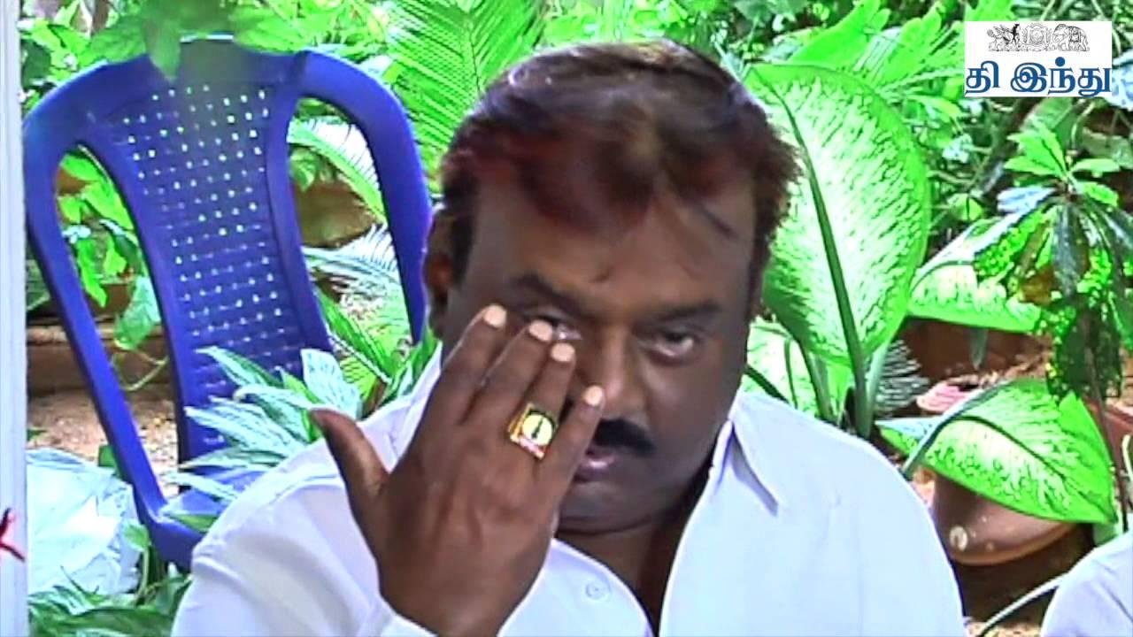 Vijayakanth Controversial Talk