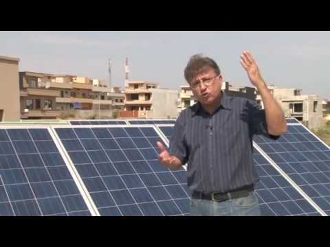 Solar Power/solar electricity/shamsi bijli شمسی بجلی for home information in urdu