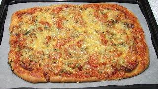 """Пицца """"Ленивая Жена"""" - 15 минут и вся семья накормлена!!!"""