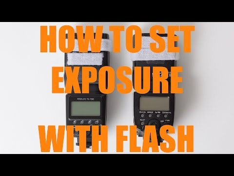 How To Set Your Aperture, Shutter Speed and ISO When Shooting Flash | Q&A Ep.39 pt2