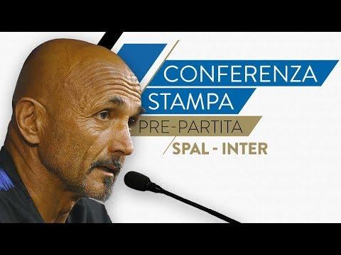 SPAL-INTER | Luciano Spalletti in conferenza stampa LIVE