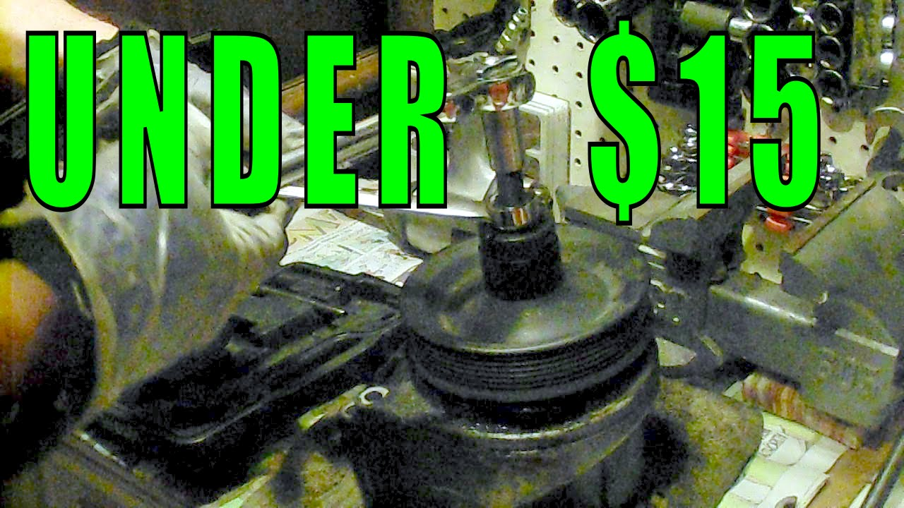 Power Steering Pump Rebuild Under 15 Part 1 Dis Assembly 94 Buick Century Fuel Filter Bushing Pulley Removal Fix Leaks