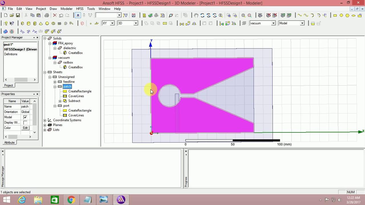 Vivaldi antenna design tutorial design
