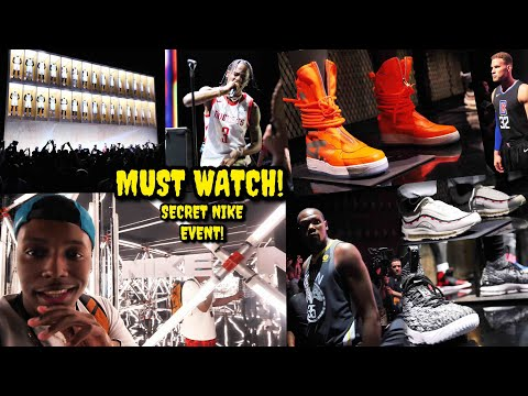 INVITED TO AN EXCLUSIVE NIKE EVENT! NEVER BEFORE SEEN SNEAKERS & MORE! (You Gotta See This One)