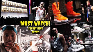 INSIDE AN EXCLUSIVE NIKE EVENT! NEVER BEFORE SEEN SNEAKERS & MORE! (You Gotta See This One)