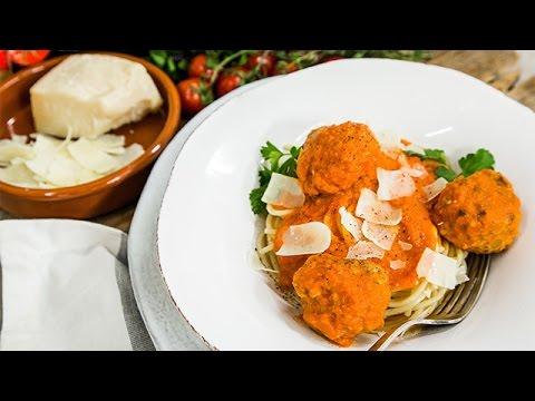 Reicipe  Susan Lucci & Helmut Huber Make Spaghetti & Meatballs  Hallmark Channel
