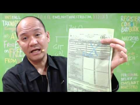 BIR Form 1701Q for Optional Standard Deduction (1st Quarter, OSD)