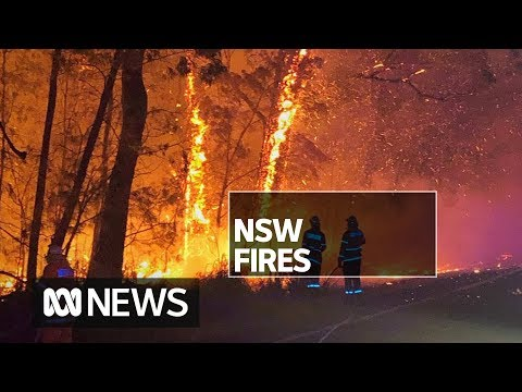 Buildings Destroyed As Out-of-control NSW Bushfire Races Towards Beach Communities | ABC News