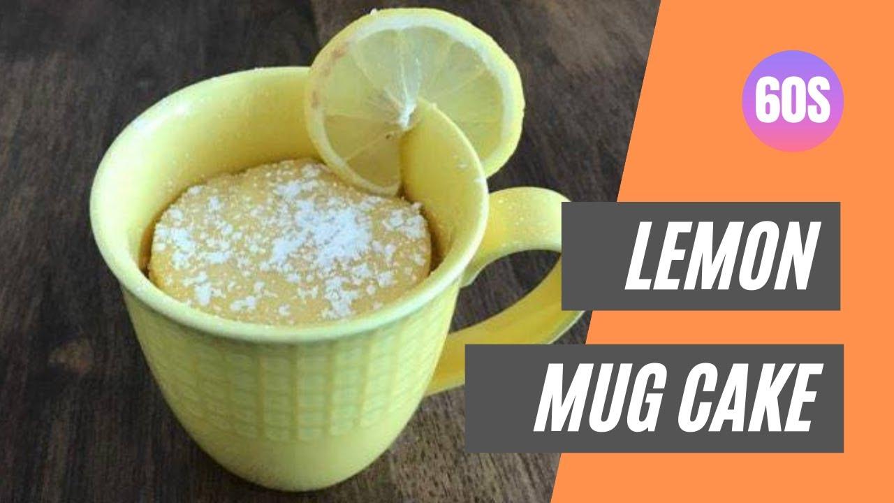 Lemon Mug Cake | Microwave Mug Cake Recipe | Mug Cake ...