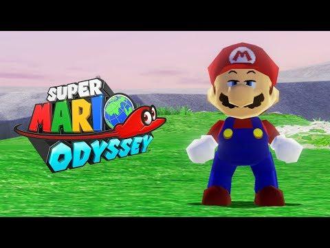 SUPER MARIO ODYSSEY #13 - Visita Inesperada nas Cataratas! (Nintendo Switch Gameplay)