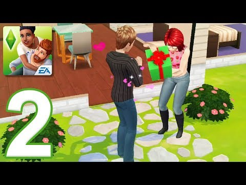 The Sims Mobile - Gameplay Walkthrough Part 2 (iOS, Android)