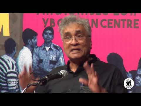 Use History To Expose RSS Lies: Shamsul Islam | Mumbai Collective 2017