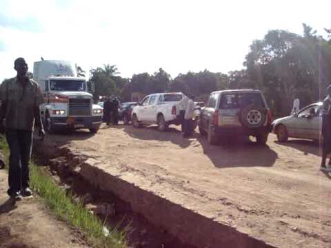 Traffic Jam in DRC Katuba township