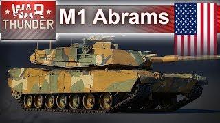 M1 Abrams w bitwie symulacyjnej - War Thunder