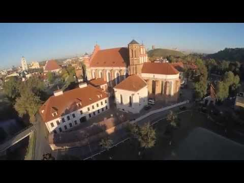 Lithuania - Vilnius 2015 Drone View - GoPro hero 4 black
