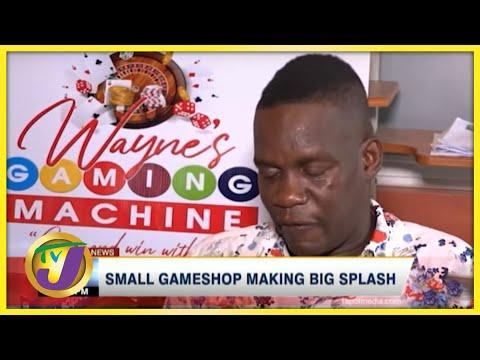 Small Gameshop Making Big Splash | TVJ News - June 13 2021