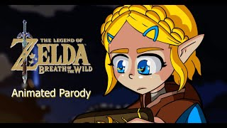 Cooking for the beauтiful Zelda | Breath of the wild Animated Parody