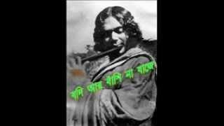 Jodi Ar BaNshi Na Baje - Kaji Sabysachi Recites Nazrul