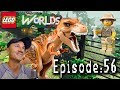Let's Play Lego Worlds: Episode 56: Building Lego Jurassic Park in Ivory City!