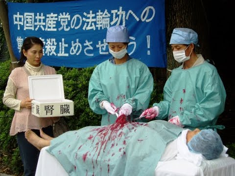 "Mitchell Gerber ""Forced LIVE Organ Harvesting in China"""