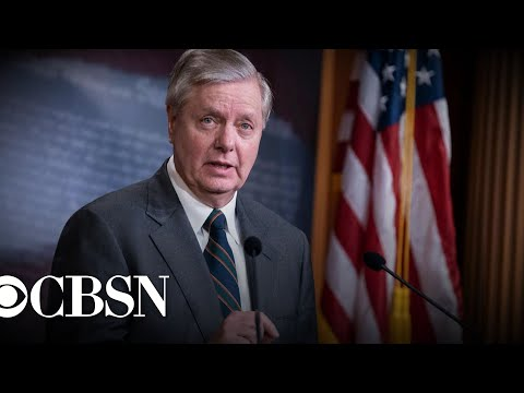 One of Trump's closest Senate allies, Lindsey Graham, breaks with him on several issues