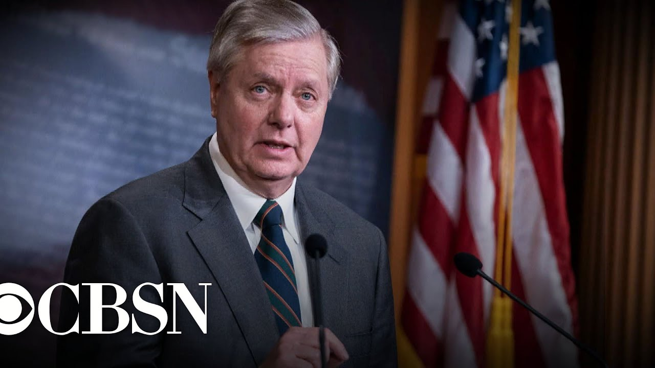 'It's over': Trump ally Lindsey Graham tells Senate Biden is the ...