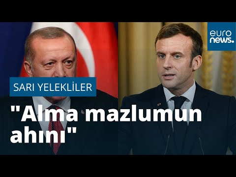 Erdoğan'dan Sarı Yelekliler yorumu: Alma mazlumun ahını, çıkar aheste aheste