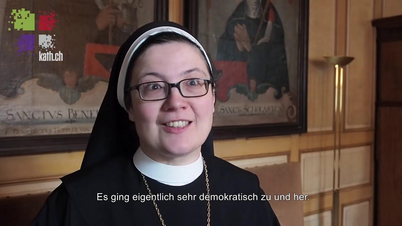 Äbtissinnen-Weihe Frauenkloster St. Andreas, Sarnen
